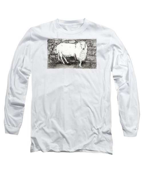 Charcoal Sheep Long Sleeve T-Shirt