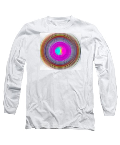 Long Sleeve T-Shirt featuring the digital art Charcoal Spiral by Prakash Ghai