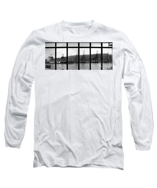Charging Dock Of Barcelona Long Sleeve T-Shirt