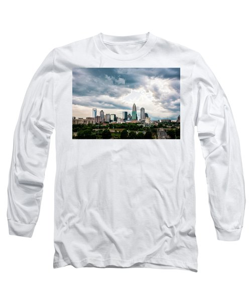 Charlotte In The Clouds Long Sleeve T-Shirt by Phyllis Peterson
