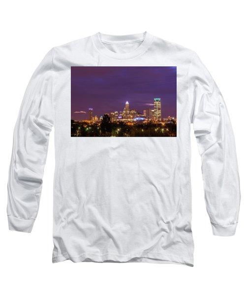 Charlotte, North Carolina Sunrise Long Sleeve T-Shirt