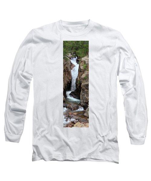 Chasm Falls 2 - Panorama Long Sleeve T-Shirt
