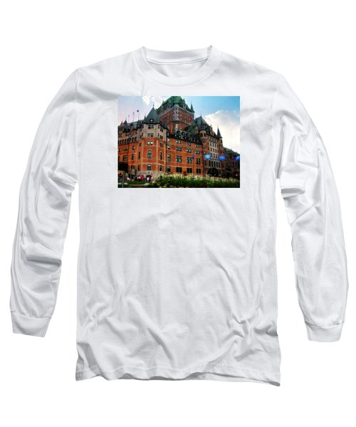 Chateau Frontenac Long Sleeve T-Shirt