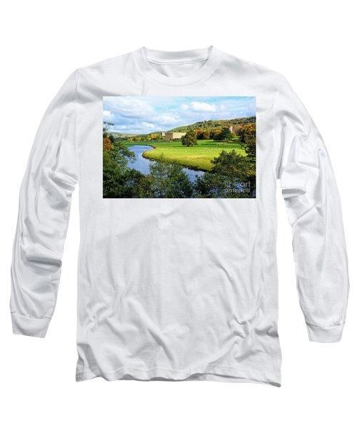 Chatsworth House View Long Sleeve T-Shirt