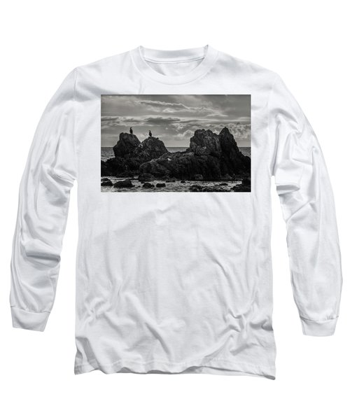 Chatting On Rocks Long Sleeve T-Shirt