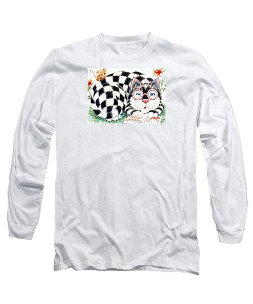 Checkers Long Sleeve T-Shirt by Dee Davis