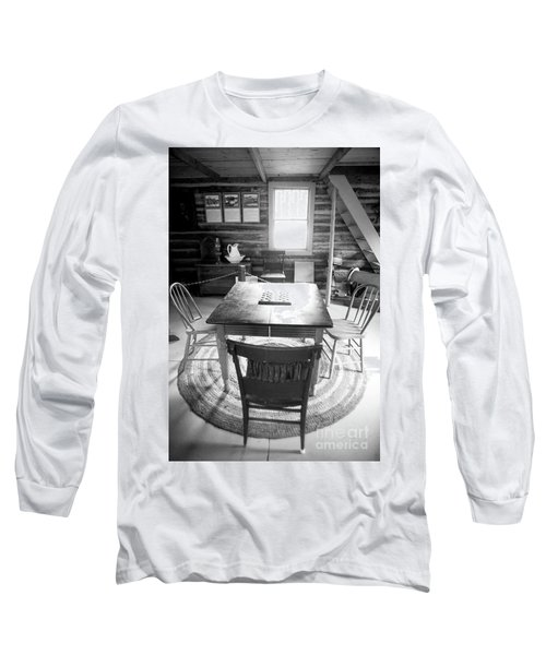 Checkers Long Sleeve T-Shirt by Randall Cogle