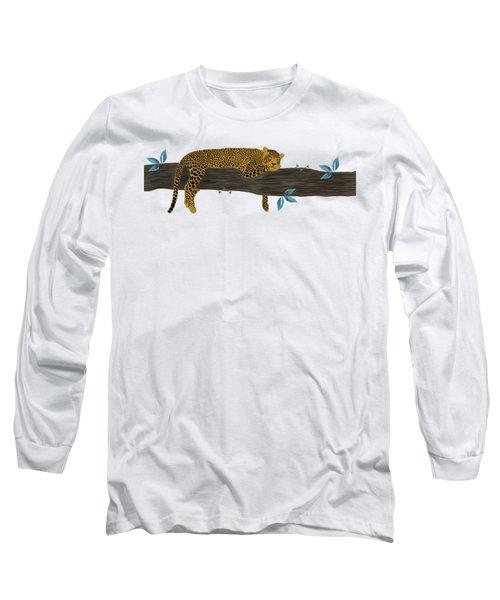 Cheetah Chill Long Sleeve T-Shirt