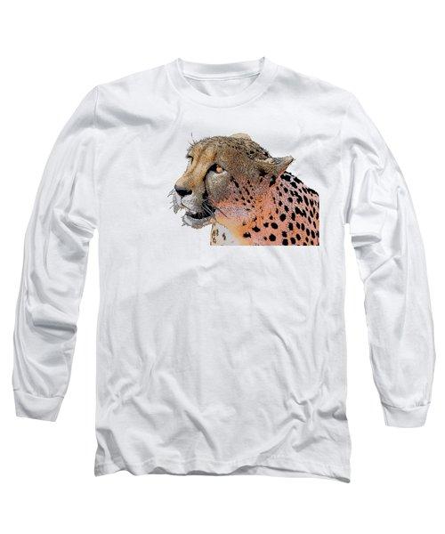 Cheetah Golden Eye Long Sleeve T-Shirt