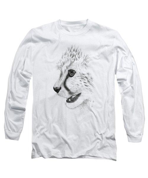 Cheetah Long Sleeve T-Shirt by John Barnard