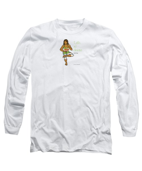 Chef Pose 2 Long Sleeve T-Shirt