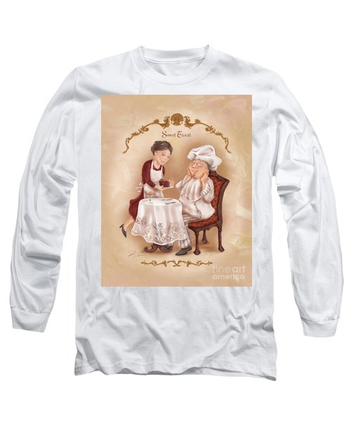 Chefs On A Break-sweet Treat Long Sleeve T-Shirt