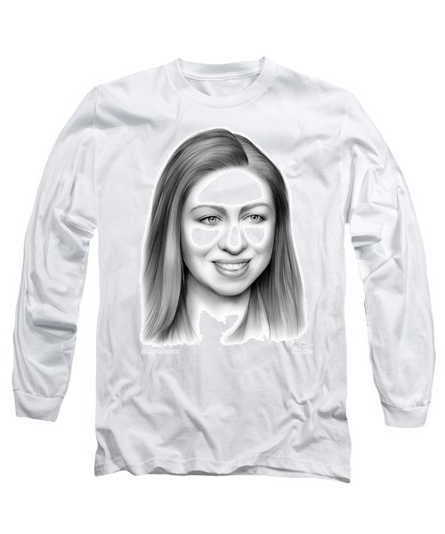 Chelsea Clinton Long Sleeve T-Shirt