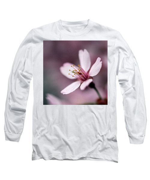 Cherry Blossom Long Sleeve T-Shirt by Joseph Skompski