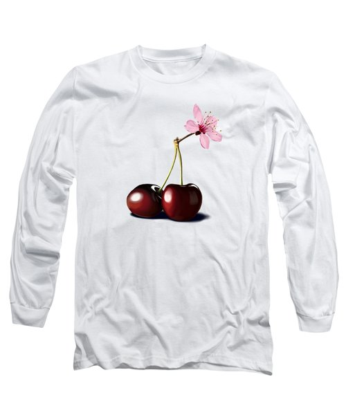 Cherry Blossom Long Sleeve T-Shirt