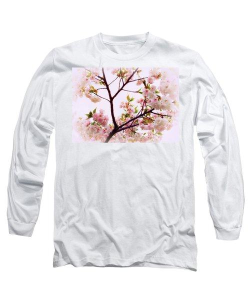 Cherry Blossom Charm Long Sleeve T-Shirt