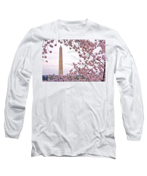 Cherry Washington Long Sleeve T-Shirt