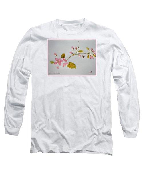 Cherry Pink Long Sleeve T-Shirt