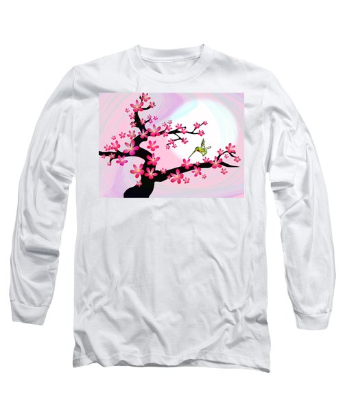 Cherry Tree Long Sleeve T-Shirt