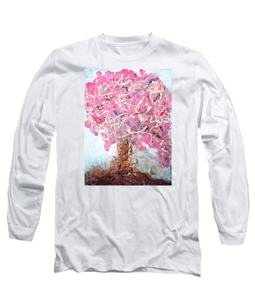 Cherry Tree By Colleen Ranney Long Sleeve T-Shirt
