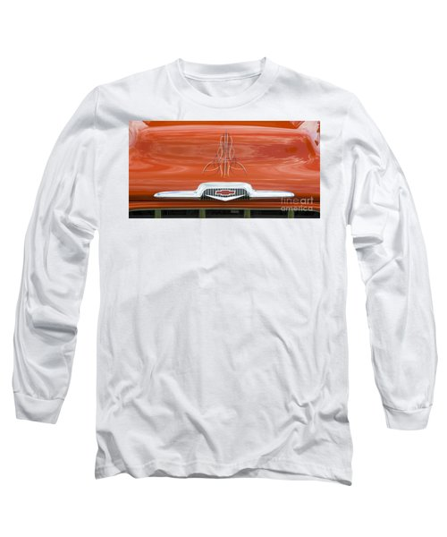Chevrolet 30 Long Sleeve T-Shirt by Wendy Wilton