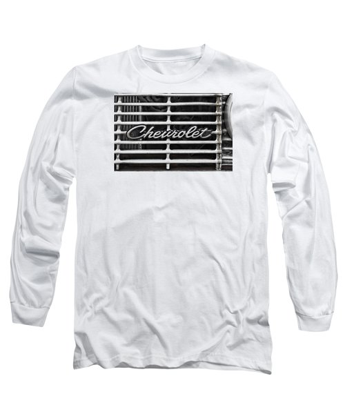 Chevy Grill Long Sleeve T-Shirt