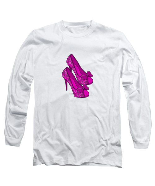 Chic Shoes Long Sleeve T-Shirt