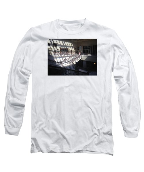 Chicago Art Institude Long Sleeve T-Shirt by Paul Meinerth