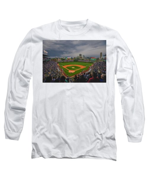 Chicago Cubs Wrigley Field 4 8213 Long Sleeve T-Shirt