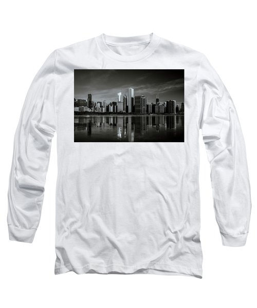 Chicago Lake Front Long Sleeve T-Shirt