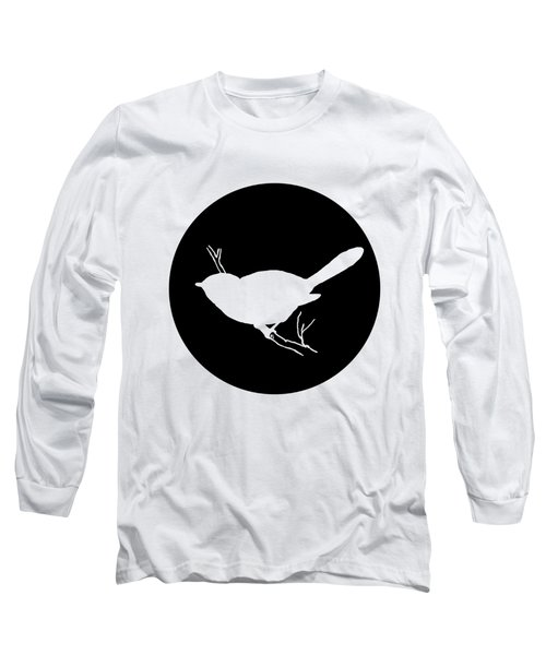 Chickadee Long Sleeve T-Shirt by Mordax Furittus