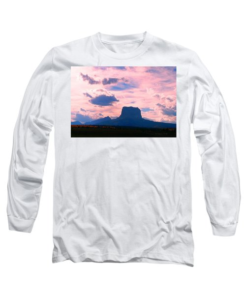 Chief Mountain, Pastel Long Sleeve T-Shirt