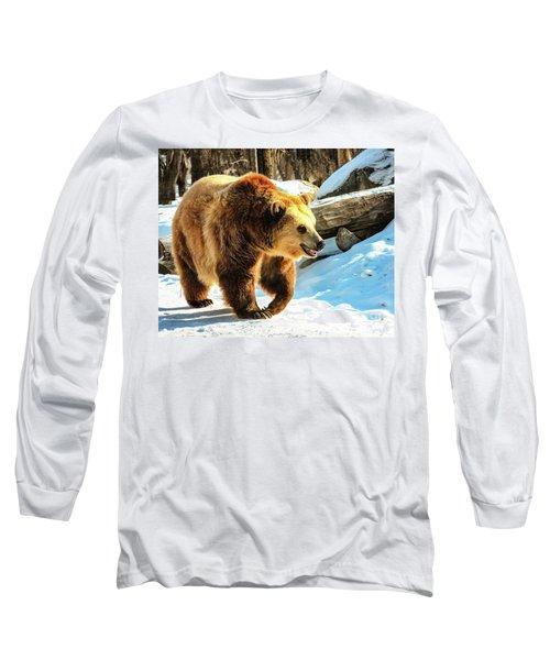 Chief Walking Bear Long Sleeve T-Shirt