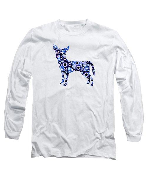 Chihuahua - Animal Art Long Sleeve T-Shirt