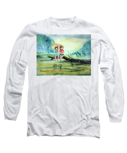 Childhood Joys Long Sleeve T-Shirt