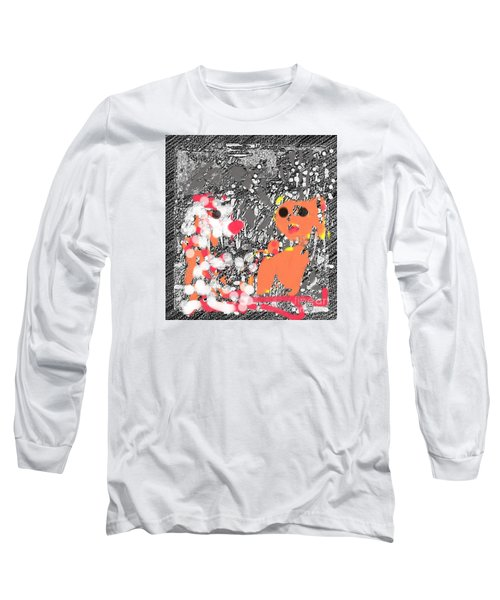 Children Art Friends Long Sleeve T-Shirt