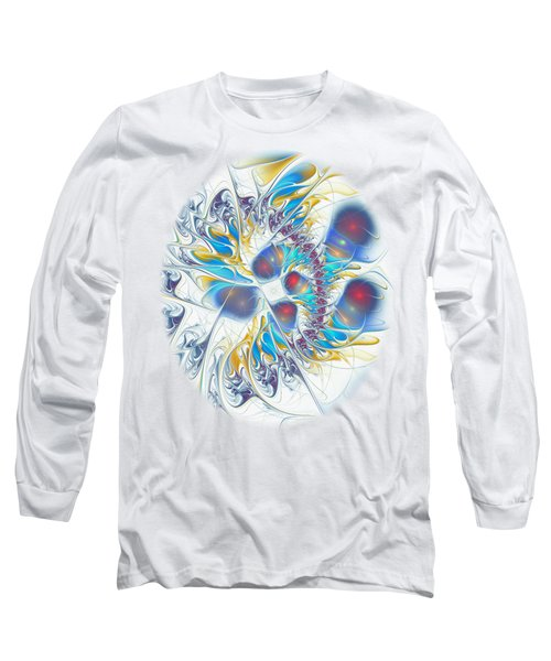 Long Sleeve T-Shirt featuring the digital art Child's Play by Anastasiya Malakhova