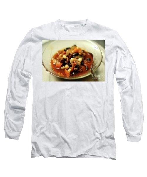Chili Long Sleeve T-Shirt by Joseph A Langley