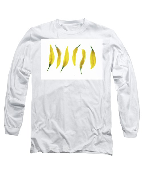 Chillies Lined Up II Long Sleeve T-Shirt