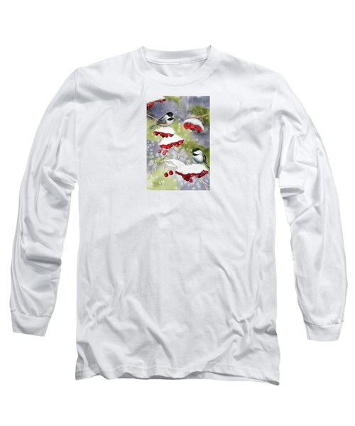 Chilly Chickadees Long Sleeve T-Shirt
