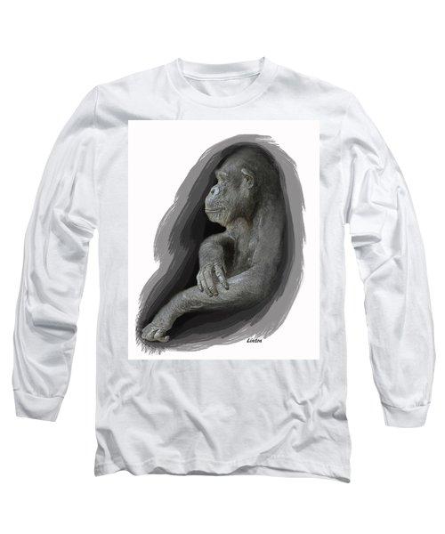 Primate Profile Long Sleeve T-Shirt