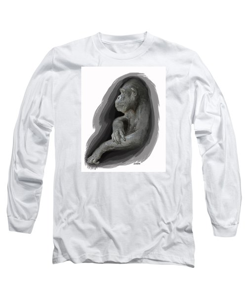 Primate Profile Long Sleeve T-Shirt