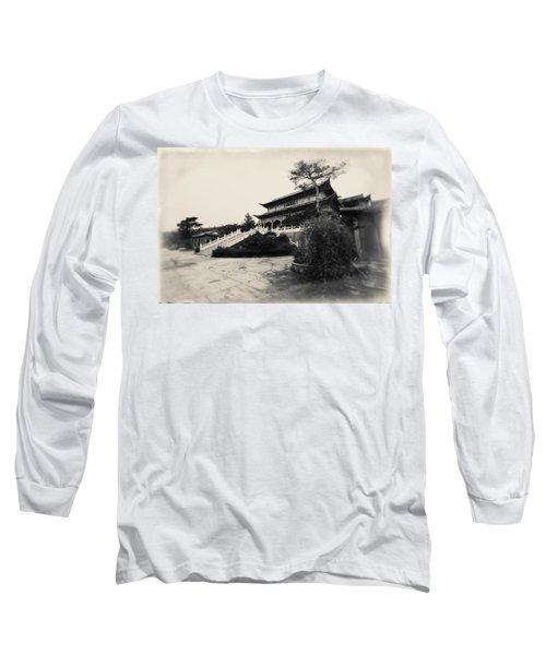 China #0640 Long Sleeve T-Shirt by Andrey Godyaykin