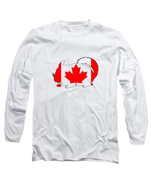 Chinchilla Canada Long Sleeve T-Shirt