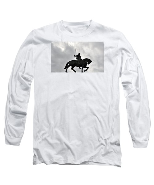 Long Sleeve T-Shirt featuring the photograph Chivalry by Marwan Khoury