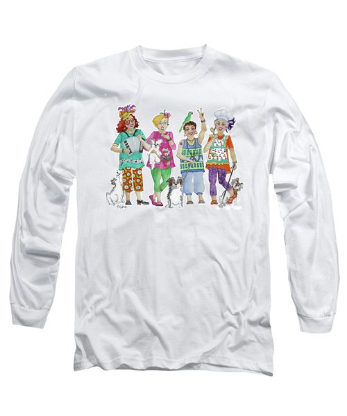 Chix Long Sleeve T-Shirt by Rosemary Aubut