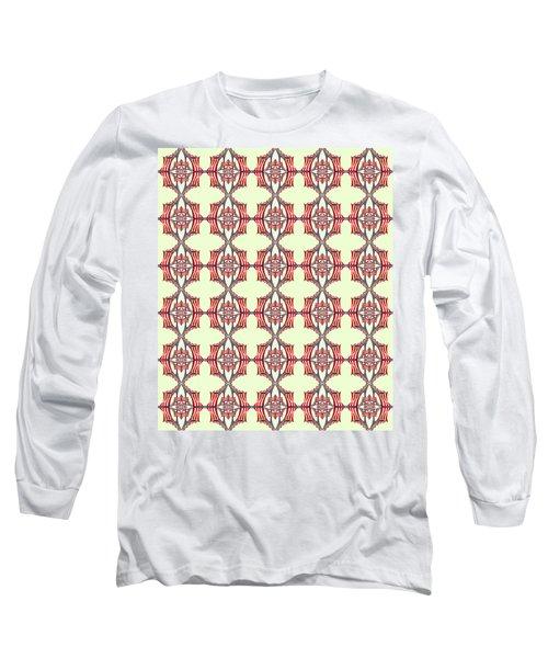 Chock A Block Pale Green Long Sleeve T-Shirt