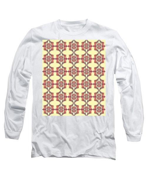 Chock A Block Yellow Long Sleeve T-Shirt