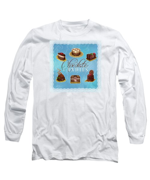 Chocolate Candies Long Sleeve T-Shirt