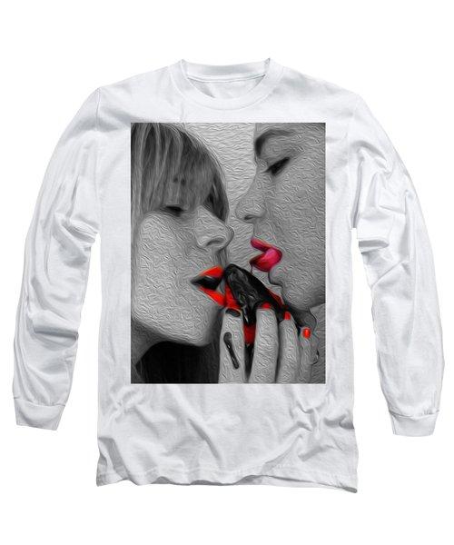 Chocolate Kiss- Long Sleeve T-Shirt